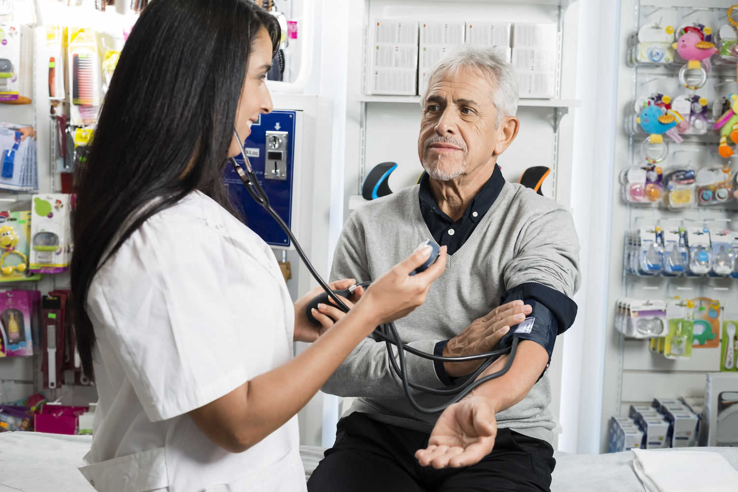 Are you struggling to monitor your blood pressure or just simply want it checked without making a trip to the doctors? Stop by our stores to have one of our pharmacists check it for you!
